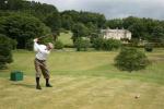 Golfer at Kingarrock golf