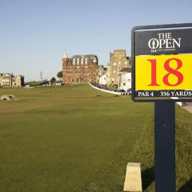 Garantierte Abfahrten Golf St Andrews Schottland