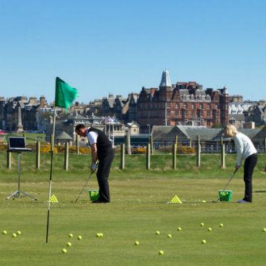 Golf und Englisch St Andrews Schottland