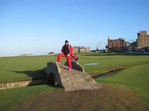 Eine tolle Erinnerung. Golf in Schottland