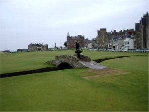 Eine unvergessliche Erinnerung.Golf in Schottland