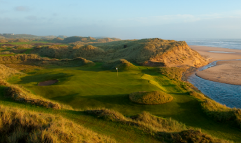 Drittes Loch auf den Trump International Golf Links Schottland