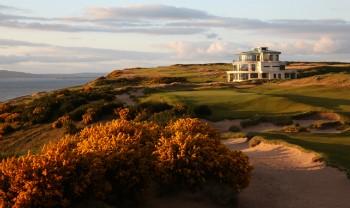 9. Grün auf den Castle Stuart Golf Links