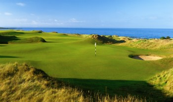 5. Loch auf den Kingsbarns Golf Links