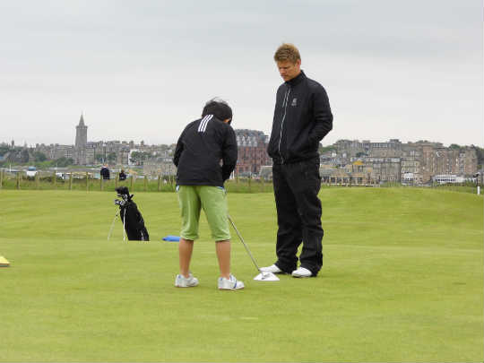 Golf Camp Schottland St Andrews