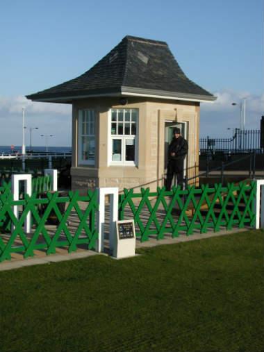 Golf Schottland Old Course Starter Saint Andrews
